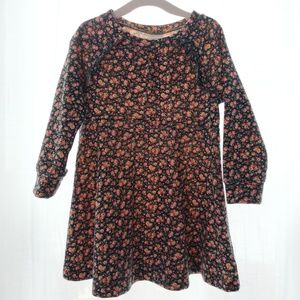 Baby Gap Girls Floral Dress - Size 2 Years